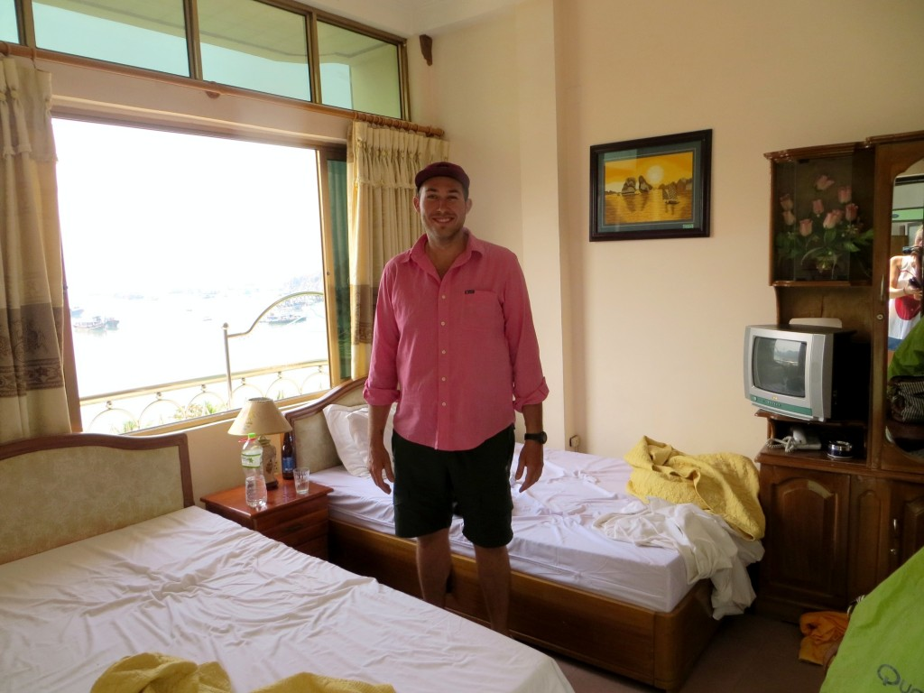 Our first room on Cat Ba
