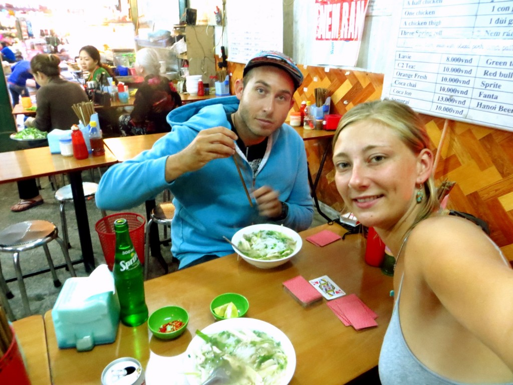 Our last meal in Hanoi. Pho, of course. Mmmm