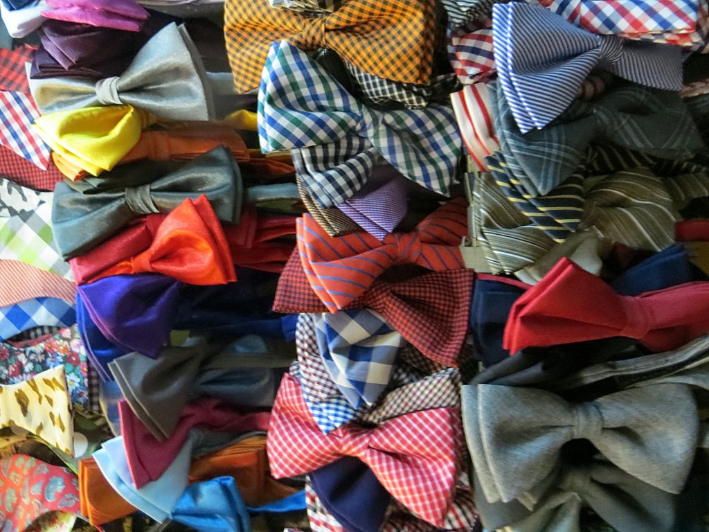 Bowties on bowties on bowties...