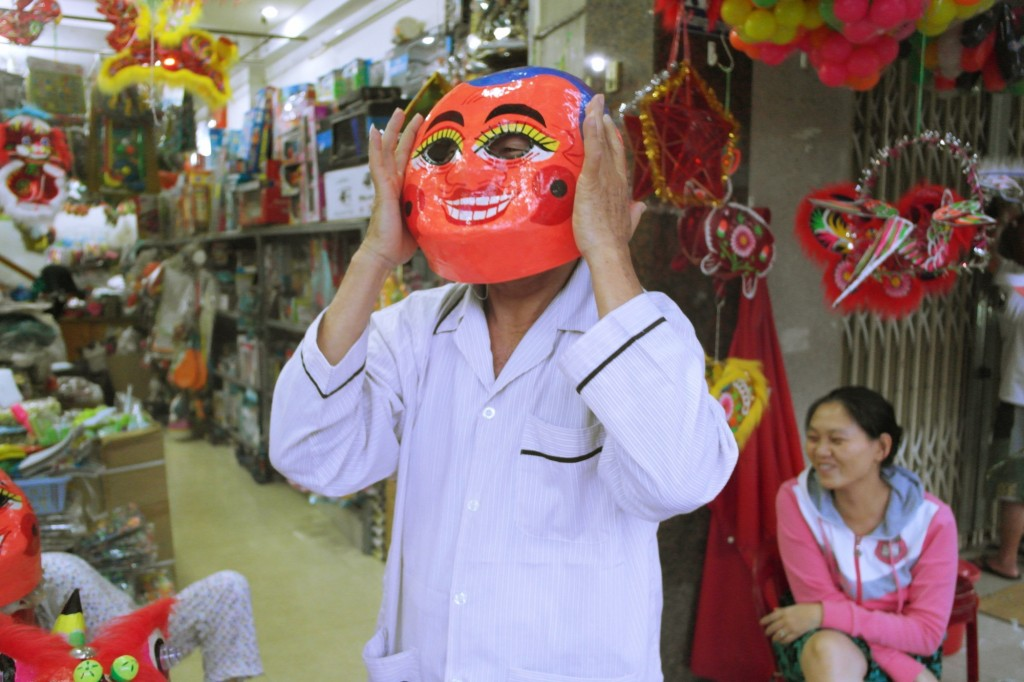 Cheeky Mooncake Festival Mask