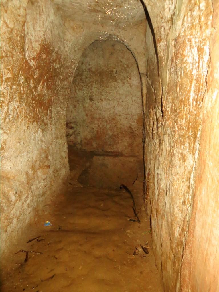 Underground latrine