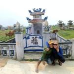 Travel Vietnam photoshoot cow man