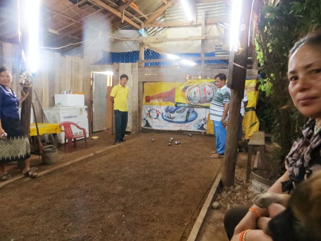 Travel Lao bocce ball