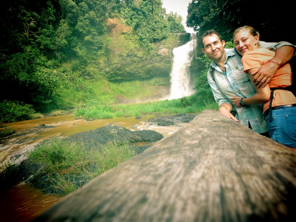 Travel Laos KT Lou waterfall