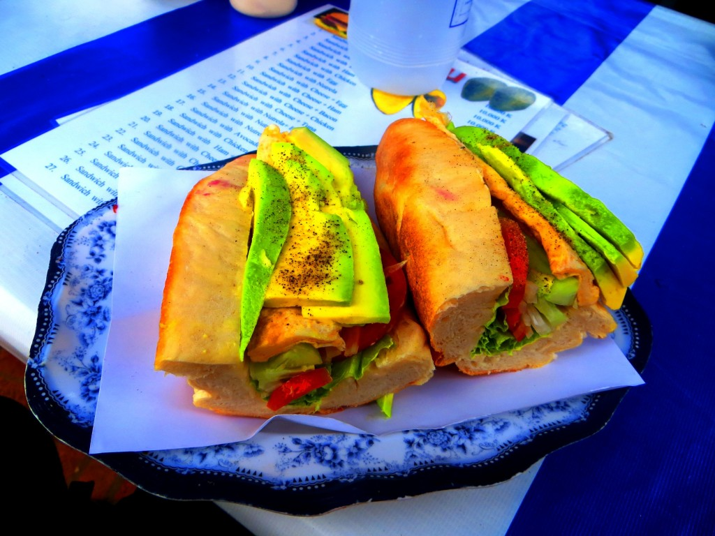 Travel Laos Luang Prabang sandwich
