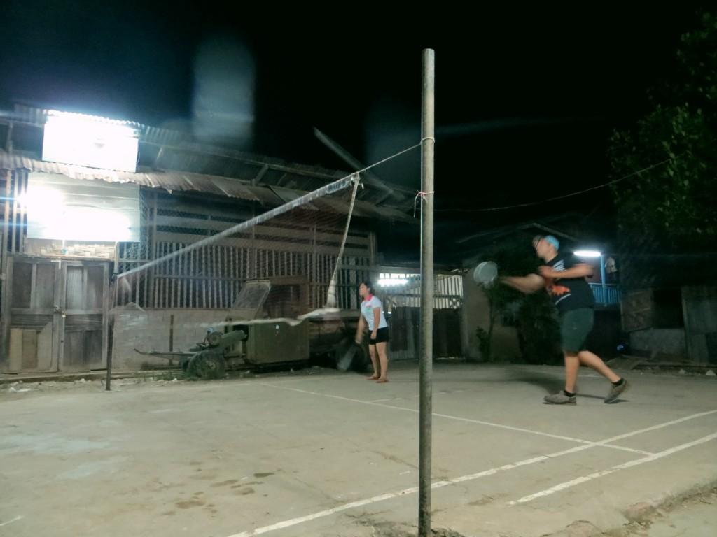 Travel Laos badminton