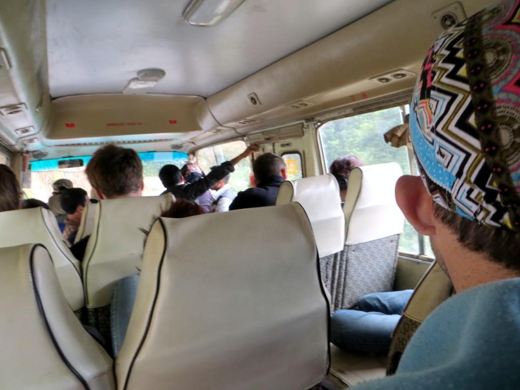 Travel Laos border bus